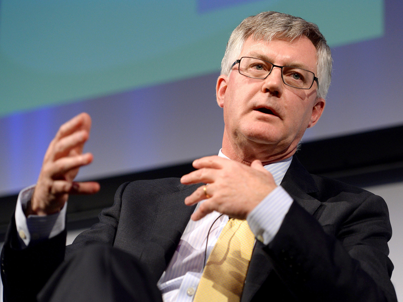 Supplied image of former Federal Treasury Secretary Dr Martin Parkinson speaking at a business leaders' forum at the Queensland University of Technology in Brisbane, Tuesday, July 14, 2015. (AAP Image/Queensland University of Technology, Profile Photos, Roger Phillips) NO ARCHIVING, EDITORIAL USE ONLY