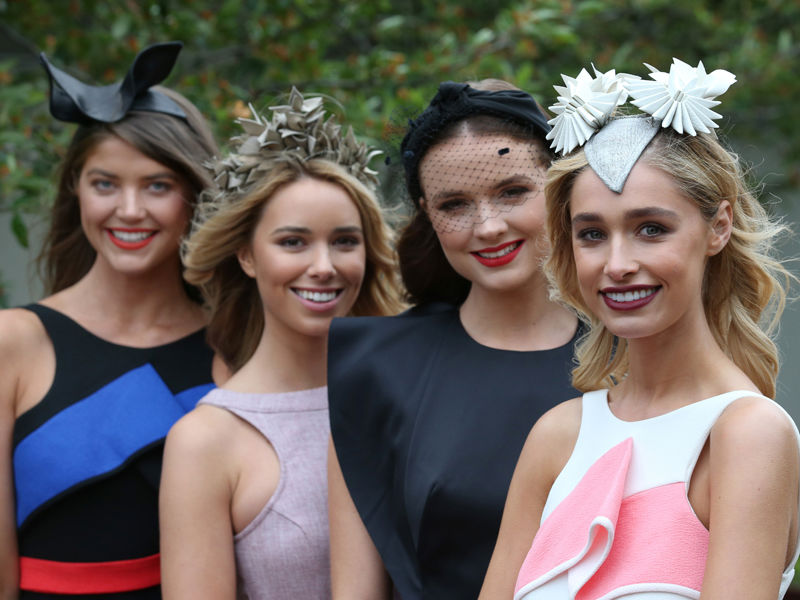 13.Bank on a hat for the Melb Cup milliner